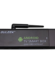 glk-mk807iiis android 4.4 4k smart tv box avec rk3288 cortex a17 cpu, wifi, Bluetooth, USB, HDMI, tf,