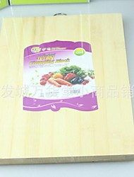 50 pcs wholesalebamboo Tábua de Cozinha, bambu 32 × 24 × 3,5 centímetros (12,6 × 9,5 × 1,4 polegadas)