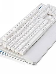 Ajazz usb bedraad sleutel dop ergonomie ontwerp mechanische voelt gamen 19 anti-ghosting sleutel ak20 priester toetsenbord (wit)