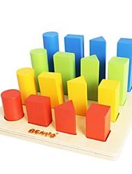 madeira de bétula benho geométrica playboard triagem brinquedo de madeira educação 18m +