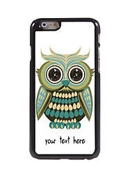 "Personalized Case Lovely Owl Design Metal Case for iPhone 6 (4.7"")"