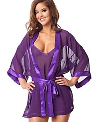 Women's Europe Bathrobes Pajamas Sexy Uniform Lingerie Nightwear