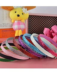Bright Pu Leather 10MM Personalized Collar (Price exclude Letter) for Dogs and Cats (Assorted colors,Sizes)
