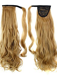 Excellent Quality Synthetic Clip In Ponytail 24 Inch Long Curly Hair Piece