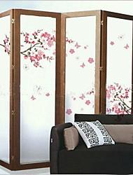 Environmental Removable Peach Blossom PVC Wall Sticker