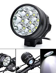 Marsing Stirnlampen / Radlichter LED 3500-4500 Lumen 3 Modus Cree XM-L T6 18650 Wasserdicht / Wiederaufladbar / Stoßfest / Hohe Kraft