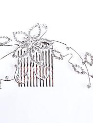 Femme / Jeune bouquetière Alliage Casque-Mariage / Occasion spéciale / Décontracté Peigne