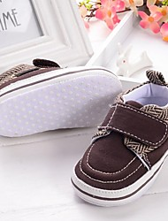 Baby Shoes Casual Fabric Fashion Sneakers Brown