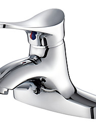 American Standard Centerset Single Handle Two Holes in Chrome Bathroom Sink Faucet