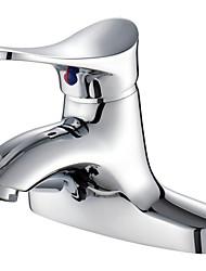 American Standard centerset única alça de dois furos no banho de cromo torneira da pia