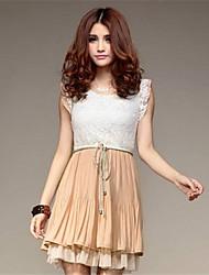 De phoenix vrouwen mode klassieke temperament all-geëvenaard dame jurk