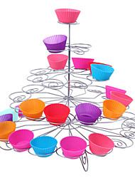 41 contagem de 5 camadas queque ficar para a festa de casamento / aniversário, torre de cupcake, de aço inoxidável