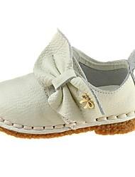 Chaussures bébé Mariage/Extérieur/Robe/Informel Poil de veau Oxfords Rose/Blanc
