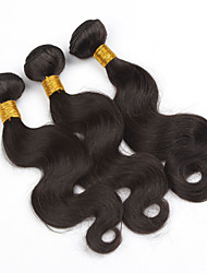 3pcs/lot Malaysian Body Wave Virgin Hair Wefts 300g Natural Color Human Hair Weave Bundles
