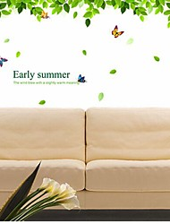 Removable Leaf PVC Wall Sticker