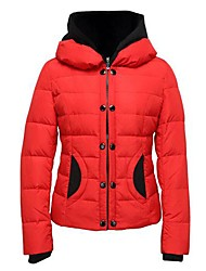 Women's Coats & Jackets , Feather Casual Long Sleeve CYC