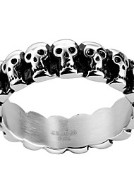 Skull Design RingPunk Style Titanium Fashion Jewelry For Men Dress Accessories