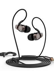 Auriculares ( Micrófono/MP3/Resonancia/Control de volumen/Auriculares/Cancelación de Ruido ) Con cable para Manzana In-Ear