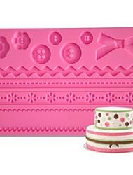quatro c botão silicone mat fondant e mofo gumpaste, fontes fondant bolo mat ferramentas bolo mat pasta de açúcar