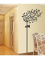 Wall Stickers Wall Decals, Style The Birds And The Trees PVC Wall Stickers