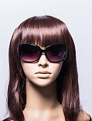 100% UV Women's Oversized Plastic Retro Sunglasses