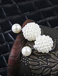 Women's Fashion Pearl Stud Earrings