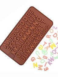 diy Englisch Alphabet Silikonformen Backenwerkzeuge 20 * 11,5 * 0,3 cm