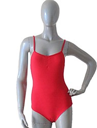 Ballet Cotton/Lycra More Colors Camisole Leotards with Pinch Front and Back for Ladies and Girls