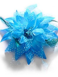 Fashion Feather Flower Shape Dance Headpieces(More Colors)
