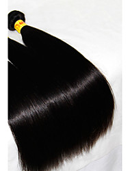 "3Pcs Lot 8-30"" Unprocessed Raw Malaysian Virgin Hair Straight Natural Black Malaysian Human Hair Weave/Weft Bundles"