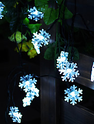 10 Solar Powered Outdoor String Lights-Fairy Lights-Natale della luce della stringa per la decorazione