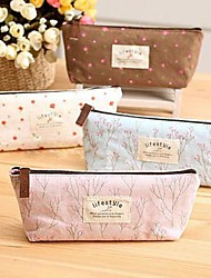 Vintage Flower Floral Pencil Pen Cosmetic Makeup Storage Bag Pouch Case Purse Kids Birthday Wedding Return Gift