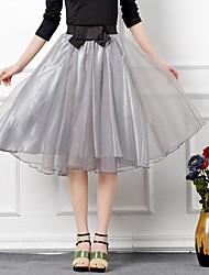 Faldas (Organza) Longitud hasta rodilla - Medio - Estilo