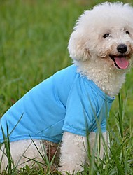 Dog Shirt / T-Shirt Red / Green / Blue Summer Wedding / Cosplay
