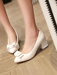 Women's Shoes Chunky Heel Pointed Toe Pumps Dress Shoes More Colors Available