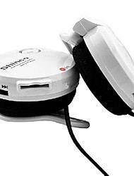Cuffie(gancio per l'orecchio) - Mela On-Ear - Microfono/MP3/Controllo del volume - Con fili