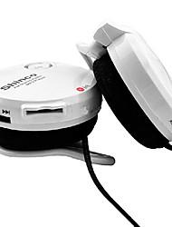 Shinco M8 TF Card Earhook Sporty Headphone with Microphone FM Radio for Iphone/Iphone6+