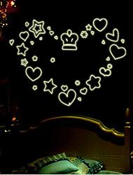 Leucht DIY PVC-Wandaufkleber
