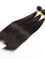 Brazilian Virgin Hair Natural colour 3Pcs 24Inch Straight Hair Weaving 100% Human Hair