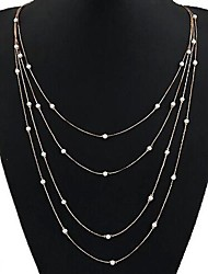 Multilayer Pearl Fashion Necklace