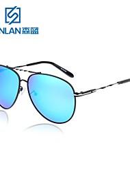 des lunettes de soleil rétro métallique de conduite d'aviateur polarisée