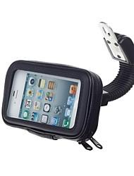 m08 moto support résistant à l'eau de vélos / stand pour GPS / téléphone portable (noir)