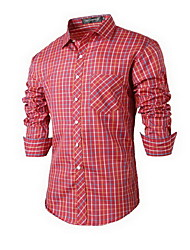 Naizirun Fashion Causal Slim Long Sleeve Shirt