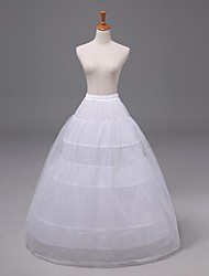 Wedding3 Tiers Floor-length Nylon Organza Petticoats Slips