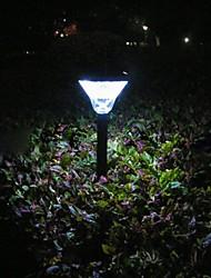 jardin pelouse lumière solaire à leds lumineuses 24pcs élevés
