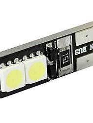 4pcs Canbus Interior T10 4 SMD 5050 LED T4W 6523 1895 4SMD 5050 DC 12V