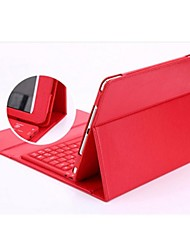 iPad Air 2 compatible Solid Color/Special Design PU Leather Smart Covers with Keyboard
