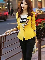 solo prendas de vestir exteriores de la chaqueta de las mujeres del botton sanfenzise (más colores)