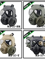 MA-27  Tactical V4 Avengers Cosplay Toxic Full Face M04 Military Airsoft Gas Mask with Fan