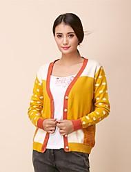 Women's Tailored Collar Solid Color Slim Cut Coat